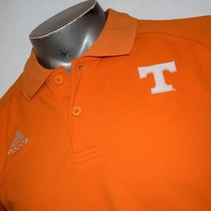 1849 Adidas Shirt Polyester Medium Tennessee Vols